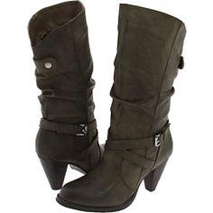 Corkys Wyatt Womens Black Riding Boots US8