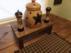 9.5 x 16 x 6 h Table Riser Bench Centerpiece by UniquePrimtiques, $29.95