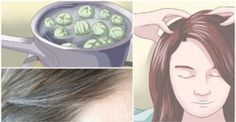 Leave This on Your Hair For 5 Minutes and Say Goodby. Published on Nov 2016 Goodbye White Hair! Leave This on Your Hair For 5 Minutes and Say Goodbye to White Hair Forever! Diy Beauty, Beauty Hacks, Old Mother, Natural Home Remedies, Grey Hair, Fall Hair, Beauty Routines, Hair Hacks, Health And Beauty