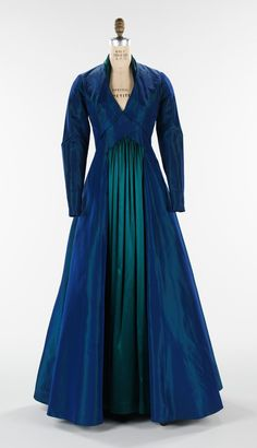 """The Styx"" Evening Gown, Elizabeth Hawes fall/winter 1936, American, silk."