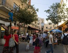 Strolling on Ben Yehuda Pedestrian Mall is a must while in Jerusalem