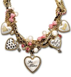 if a guy got me this for valentines day... *swoon* SO adorable! (Betsey Johnson)
