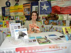 Enslow author Ana Maria Rodriguez at TLA.