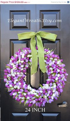 Hey, I found this really awesome Etsy listing at https://www.etsy.com/listing/43473572/spring-sale-24-inch-spring-wreath-spring