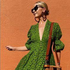 #ladiesoflele #blaireadiebee #atlanticpacific #hoop #hoopearring Blair Eadie, Summer Outfits, Summer Dresses, Traditional Outfits, Wrap Dress, Fashion Photography, Women Wear, Dressing, Spring Summer