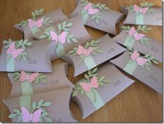 This is the first batch of Thank You gifts to my Stampers-10 groups this month. I try to make a card or a small gift to hand out with goo...