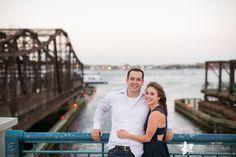 Boston Harborwalk Engagement Portraits: Heather and Paul