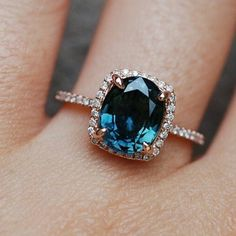 I missed #alternativetuesday but this peacock sapphire needed to... #wedding #weddings