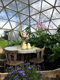 Garden Igloo Four Seasons A multipurpose geodesic dome designed