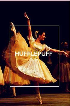 Hufflepuff ballet hogwarts houses Harry Potter Universal, Harry Potter Fandom, Harry Potter World, Harry Potter Hogwarts, Slytherin And Hufflepuff, Yer A Wizard Harry, Hogwarts Houses, Film Serie, Fantastic Beasts