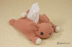 Snuggly animal tissue holder.  Crochet or sew.  Would be nice when kids are sick.