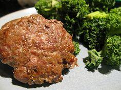 Homemade pork sausage (less salt, and Paleo)