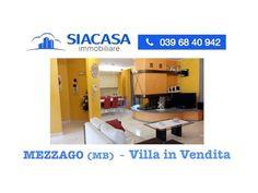 Mezzago (MB) Villa Signorile in Vendita  Ad.ze Vimercate - Busnago - Sia...