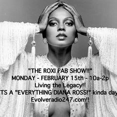 Radio Personality, Diana Ross