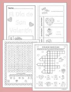 Speech And Language Therapy Worksheets Spanish Greetings Worksheets From Funtastico Spanish Materials On  3rd Grade Reading Worksheet Pdf with Potential Or Kinetic Energy Worksheet Excel Write Around The Room Activity To Learn  Spanish Words Associated With  Valentines Day  Chi Square Test Worksheet Pdf