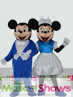 lovely ディズニーキャラクター着ぐるみ ミッキー着ぐるみ ミニー着ぐるみ セット http://www.mascotshows.jp/product/blue-Mickey-Minnie.html