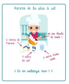 Recette De Pate A Sel Diy For Kids, Crafts For Kids, Diy Crafts, Kids Corner, Baby Play, Baby Love, Montessori, Christmas Diy, Activities For Kids