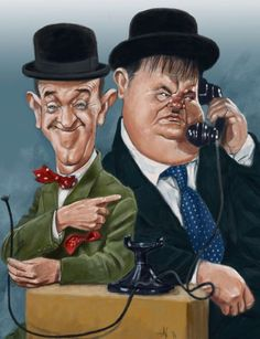 ~ Laurel & Hardy