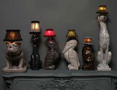 best lamp collection ever! bravo pour le choix des abats jours  ! lol