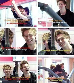 Imagine: The boys announcing your relationship with Luke. (c) @5SOS_Imagining