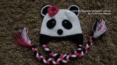 Passo a passo Touca Ursinho Panda Parte-1