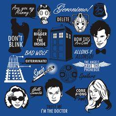 doctor who funny pics and quotes | Doctor Who Quotes by Tom Trager