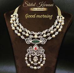 Diamond Rings, Diamond Jewelry, Gold Jewellery, Fine Jewelry, Bold Necklace, Indian Gowns Dresses, Wedding Jewelry, Jewelry Collection, Layers