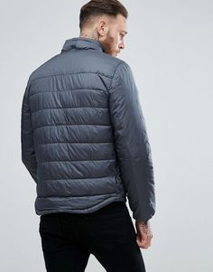 Mango Man Puffer Jacket In Gray - Gray
