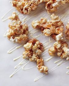 White-Chocolate Caramel Corn with Cashews - Martha Stewart Recipes ...