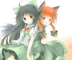 Okuu and Orin