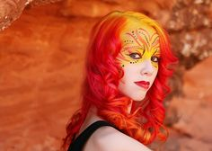 Phoenix makeup & hair