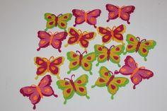 Mariposas muy divertidas, ¿os animáis a incorporarlas a algunos de vuestros complementos? ¡Quedan ideales!