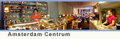 De Bakkerswinkel - lovely Amsterdam Centrum shop for breakfast, lunch or tea. Great breads. Favorite is Rye-Currant bread.