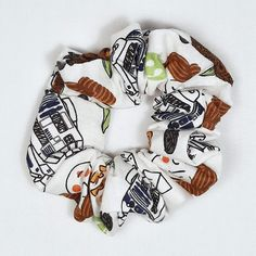 Rebel Characters Hair Scrunchie Made From Star Wars Fabric