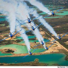 Selfie nos ares; veja 20 fotos de aeronaves da FAB em ação