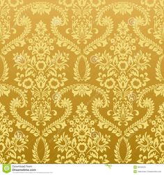 "Another example of what the wallpaper might have looked like in Charlotte Perkins Gilman's story ""The Yellow Wallpaper"""