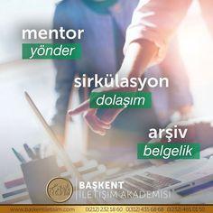 mentor = yönder. sirkülasyon = dolaşım. arşiv = belgelik.  (Kaynak: Instagram - baskentiletisim)  #türkçe #türkçedili #bilgi #kelime #kelimeler #anlam #özet #kökeni #güzel #güzelkelimeler #bazıkelimelerçokgüzel #lügat #doğrutürkçe #türkçesivar Learn Turkish, Lorem Ipsum, Karma, Language, Ale, Education, Learning, Words, Instagram Posts