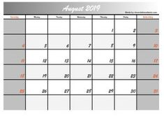 This time we give you 5 August 2019 calendar designs in the 2 most searched formats, jpg and calendar images in pdf format. The design of this calendar we made for you will hopefully be useful for you August Calendar, Blank Calendar, Printable Designs, Printables, Calendar Design, One Design, Social Media, Templates, Simple