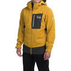 A warm jacket from Mountain Hardware.