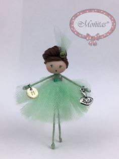 Doll Ballerina Mint Jewelry de Mischic en Etsy https://www.etsy.com/es/listing/499094570/doll-ballerina-mint-jewelry