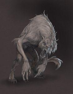 Werewolf by Mavros-Thanatos
