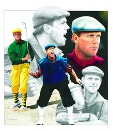 Payne Stewart....great golfer.  great man. When Payne Stewart was taken from this world, way too soon, I knew God needed him for a special mission in heaven.