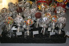 Cake pops...can I just say, yum!