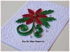 ❀ Crea Quilling by Pily Núñez ❀: Navidad en filigrana de papel /Christmas Quilling (By Pily Nuñez)