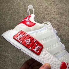 Painted white nmds  Request your order of my custom adidas nmds and enjoy free shipping within 2weeks