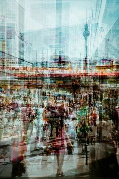 2.- Scenes Of New York Captured In Overlapped Moments - DesignTAXI.com