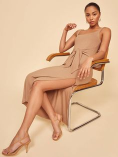 The 6 Spring 2020 Dress Trends That Are In and Out | Who What Wear Mode Shop, Denim Trends, Look Chic, Fashion Labels, Reformation, Spring Dresses, Pretty Dresses, How To Wear, Clothes