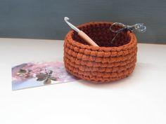 coton et gourmandises: Atelier corbeille au crochet
