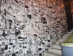 Graffiti sticker wallpaper @ Ace Hotel - http://art-nerd.com/newyork/graffiti-sticker-wallpaper-ace-hotel/