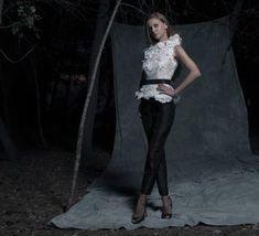 Traje de pantalón de fiesta de Isabel Sanchís